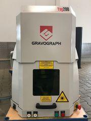Gravograph Laser Maschine Markierer beschrifter