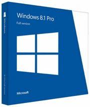 Microsoft Windows 8 1 Professional