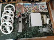 Nintendo Wii 4 Lenkrädern 4
