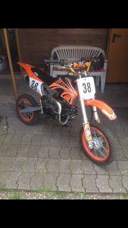 Motocross Dirtbike 125 cm³ für