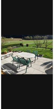 Garten Set Tisch und 6