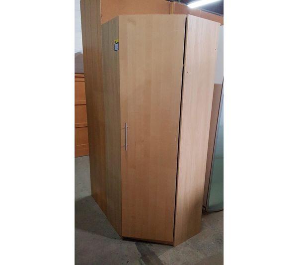 Kleiderschrank für Ecke 60x60x205 modern -