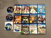 16x PS4 Spiele