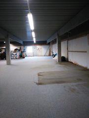 Lagerflächenanteil in großer Halle in