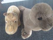 Steiff Tiere Nashorn und Robbe