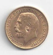 1 Pfund Sovereign Goldmünze Georg