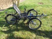 Fahrrad Liegedreirad Rohloff Anthrotech