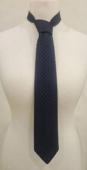 dunkelblaue Krawatte Louis Feraud Paris