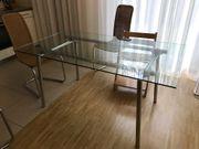 Esstisch Glas 160 x 90