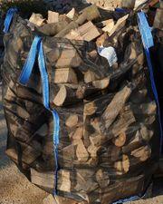 100x100x120cm Holzbag Woodbag Big Bag