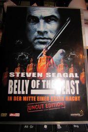 DVD Steven Seagal Belly of