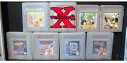 Gameboy Spiele verschiedene