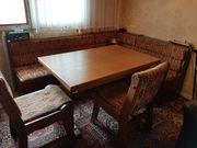 Esseck-Garnitur ohne Tisch Eiche Rustikal