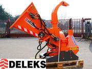 DELEKS® DK-1500 Holzhäcksler hydraulik Traktorhäcksler