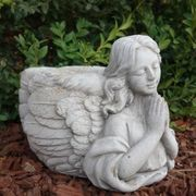 Grabdekoration Herbst und Trauertage Engel