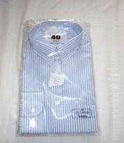 OVP hellblau gestreiftes Hemd Größe