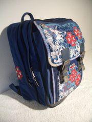 4YOU Schulrucksack in blau-bunt f