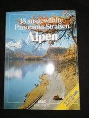 15 ausgewählte Panoramastraßen ADAC 1986