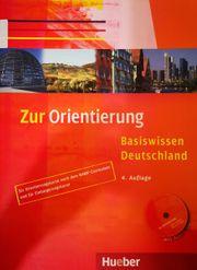 Zur Orientierung Basiswissen Deutschland Deutsch