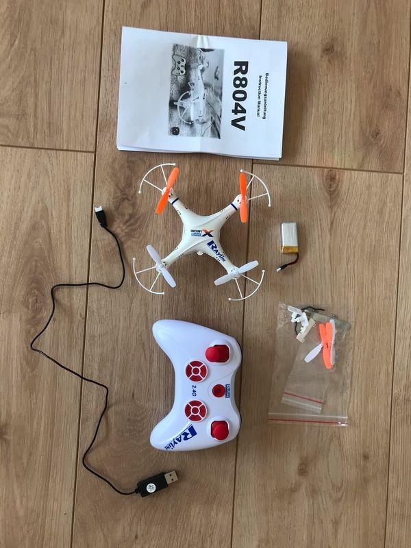 Quadrocopter Spiel Drohne vollständig mit