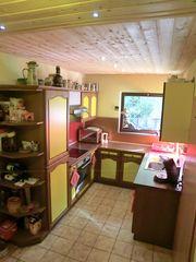 Alno-Küche Eiche massiv mit Geräten