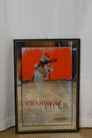 Spiegel Kult Deko PIPER-HEIDSIECK Champagne