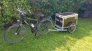 Croozer Transport-Box Anhänger Fahrrad