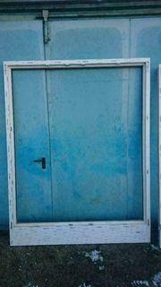 Neue Terrassentür weiß anthrazit 186