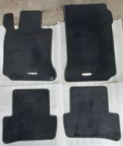 Orig MB-Velour-Fußmatten für Mercedes E-Coupe