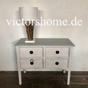 Landhauskommode Sideboard French Farbe ecru