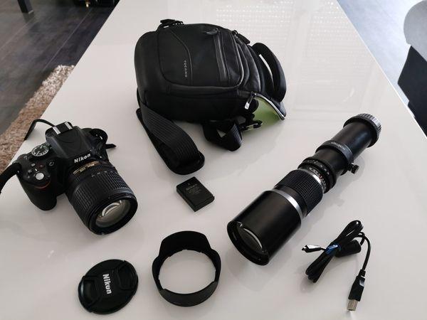 Nikon d 5100 mit Nikon