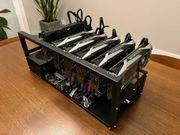 Crypto Mining Rig - 6 GPUs