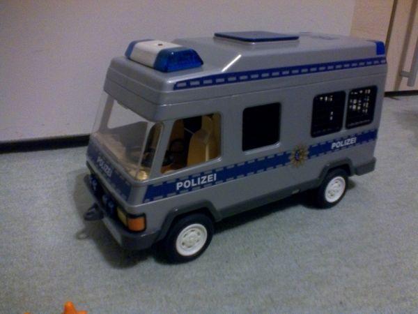 Playmobil 4023 Polizei Mannschaftswagen