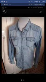 3 Jeansblusen Gr 36 38