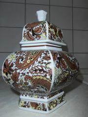 Vase mit Deckel Royal China