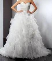 Hochzeitskleid Größe XS S