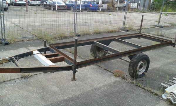 Plattformanhänger Ballenwagen Holzwagen Rückewagen 1-Achser
