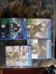 Ps4 Spiele Sammlung Neu und