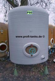 P80 gebrauchter 3000L Polyestertank GFK-Tank