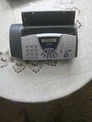 Faxgerät Brother FAX-T102 druckt auf