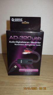 Q-Sonic Audio-Digitalisierer -Recorder