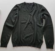 HUGO BOSS Pullover dunkelgrün Größe