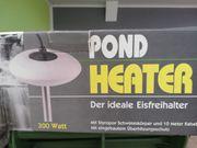 Teichzubehör Winter Pond Heater mit
