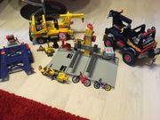 Playmobil Hebebühne mit zwei Abschleppwagen