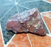 Mineral Gestein mit Achat-Anteil Fundort