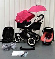 Bugaboo Buffalo pink Kinderwagen