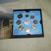 Kursmünzensatz San Marino 2003