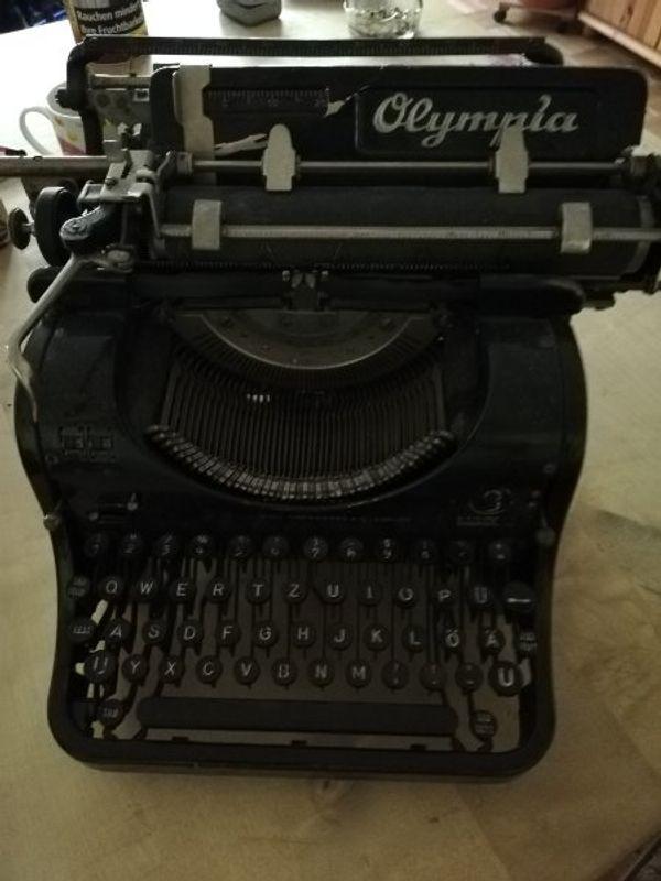Rarität olympia schreibmaschine