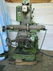 Fräsmaschine universal mit automatischem Vorschub
