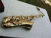 goldenes Saxophon Tenorsaxophon Selmer Mark